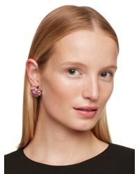 kate spade new york - Pink Kate Spade Statement Studs - Lyst