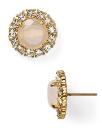 kate spade new york - Metallic Secret Garden Stud Earrings - Lyst
