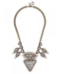 BaubleBar | Metallic Lightning Illuminati Bib | Lyst