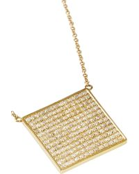 Jennifer Meyer - Metallic 18-Karat Gold Diamond Necklace - Lyst
