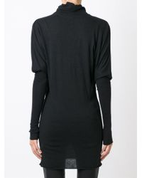 Rick Owens Lilies - Black Long Sweater - Lyst