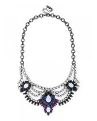 BaubleBar | Blue Opal Austen Bib | Lyst