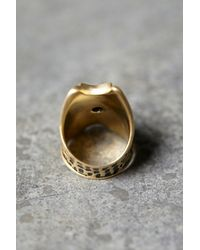 Free People | Blue Crescent Moons Ring | Lyst