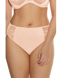 Elomi Pink 'cate' Briefs