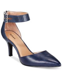 Style & Co. | Blue Style&co. Wandah Two-piece Dress Pumps, Only At Macy's | Lyst