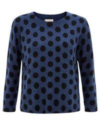 Hobbs | Blue Natasha Sweater | Lyst