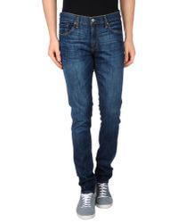 J Brand | Blue Denim Trousers for Men | Lyst
