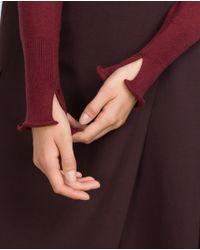 Zara | Purple High Neck Sweater | Lyst