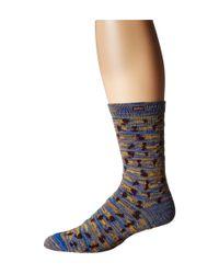 Scotch & Soda | Multicolor Patterned Chunky Sock In Melange for Men | Lyst
