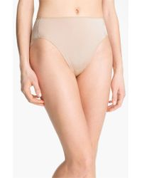 Tc Fine Intimates | Natural 'wonderful Edge' High Cut Briefs | Lyst