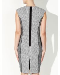 John Lewis | Gray Jacquard Dress | Lyst