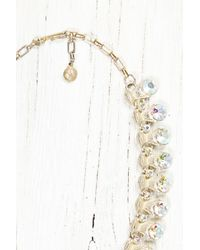 Free People - Metallic Vintage Colorful Gem Necklace - Lyst