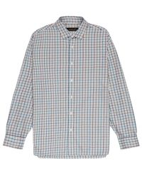 Jaeger | Purple Tattersall Check Shirt for Men | Lyst