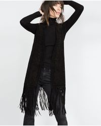 Zara | Black Polo Neck Sweater | Lyst