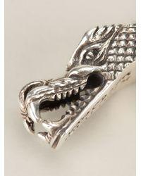 King Baby Studio | Gray Dragon Bangle | Lyst