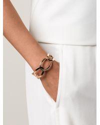 Rebecca - Pink Elizabeth Circle Cuff Bracelet - Lyst