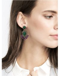 BaubleBar | Multicolor Queen Malachite Drops | Lyst