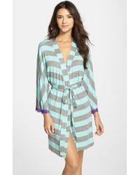 Honeydew Intimates | Green 'all American' Robe | Lyst