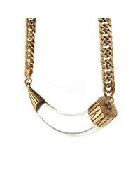 Jenny Bird - Metallic Hark! Horn Collar - Lyst