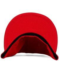 KTZ - Red New York Islanders C-dub 59fifty Cap for Men - Lyst