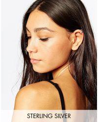 Pieces | Metallic & Julie Sandlau Sterling Silver Jix Ear Cuff | Lyst