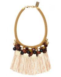 Lizzie Fortunato | Pink Lorette Necklace | Lyst