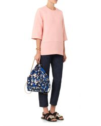 Marni - Pink Cocoonshaped Wool Top - Lyst