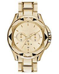 Karl Lagerfeld | Metallic 'karl 7' Chronograph Bracelet Watch | Lyst