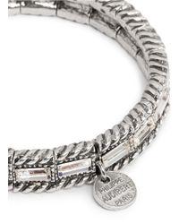 Philippe Audibert | Metallic Erinite Crystal Embellished Bracelet | Lyst