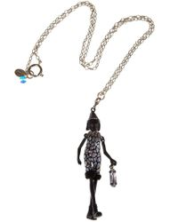 Servane Gaxotte - Metallic Chick Pendant Necklace - Lyst