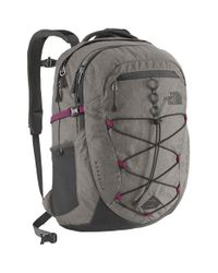 The North Face - Gray 'borealis' Backpack - Lyst