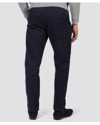 Gant - Blue New Haven Chinos for Men - Lyst