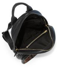Alexander Wang - Black Dumbo Calf Hair Leather Backpack - Lyst