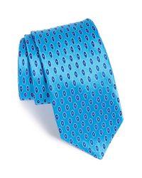 Ted Baker - Blue Oval Dot Silk Tie for Men - Lyst