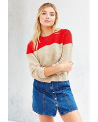 BDG - Red Olivia Sweater - Lyst