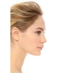 Blanca Monros Gomez   Metallic Asymmetrical Seed Stud Earrings   Lyst