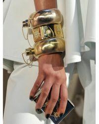Cynthia Rowley - Metallic Flask Bangle, Gold, O/S - Lyst