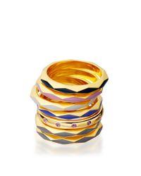 Astley Clarke - Metallic Heather Bloom Faceted Prismic Ring - Lyst