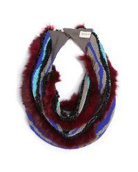 Mignonne Gavigan | Purple Psychedelic Stripes Maroon | Lyst