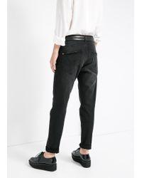 Mango - Black Boyfriend Lonny Jeans - Lyst