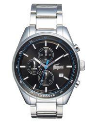Lacoste - Metallic 'dublin' Chronograph Bracelet Watch for Men - Lyst