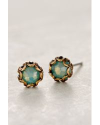 Anthropologie | Blue Scalloped Sea Studs | Lyst