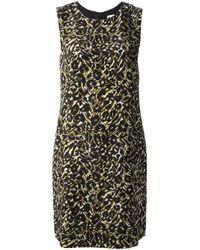M Missoni | Red Leopard Print Dress | Lyst