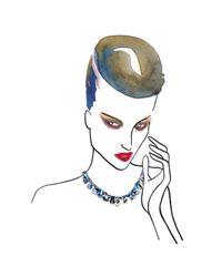 Tom Binns - Blue Covert Necklace - Lyst