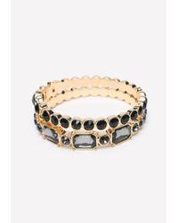 Bebe - Multicolor Crystal Bracelet Set - Lyst