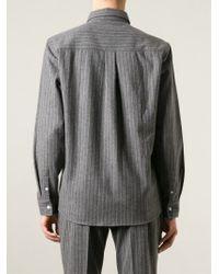 Soulland - Gray 'tom' Shirt for Men - Lyst