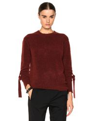 3.1 Phillip Lim - Red Front Strap Pullover - Lyst