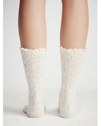 Free People | White Speckled Highland Bootsoc | Lyst