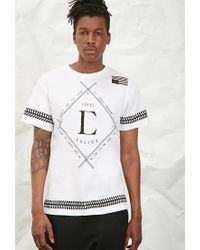 Forever 21 | White Civil Baseball Graphic Tee for Men | Lyst
