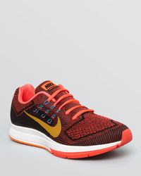Nike - Red Air Zoom Structure 18 Sneakers for Men - Lyst